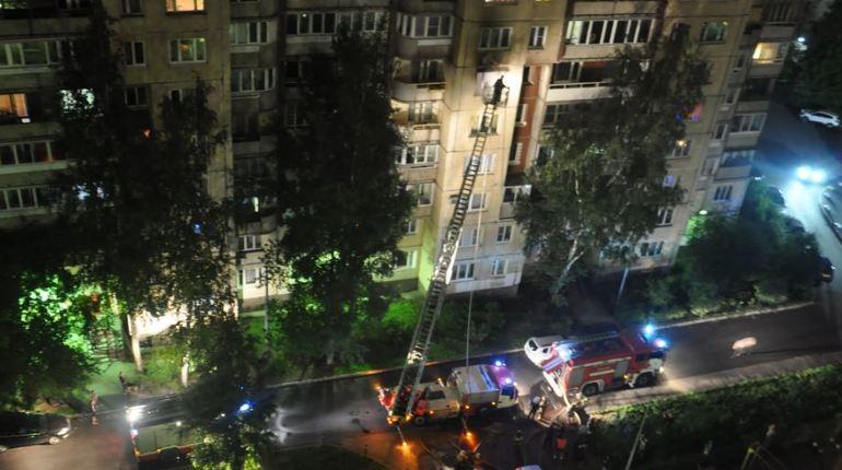 В МЧС рассказали о новых подробностях пожара на Латышских Стрелков