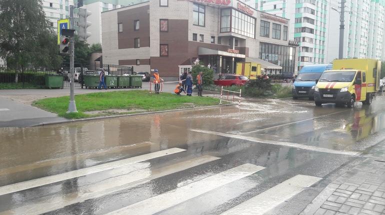 Потоп на Маршала Казакова возмутил интернет-пользователей