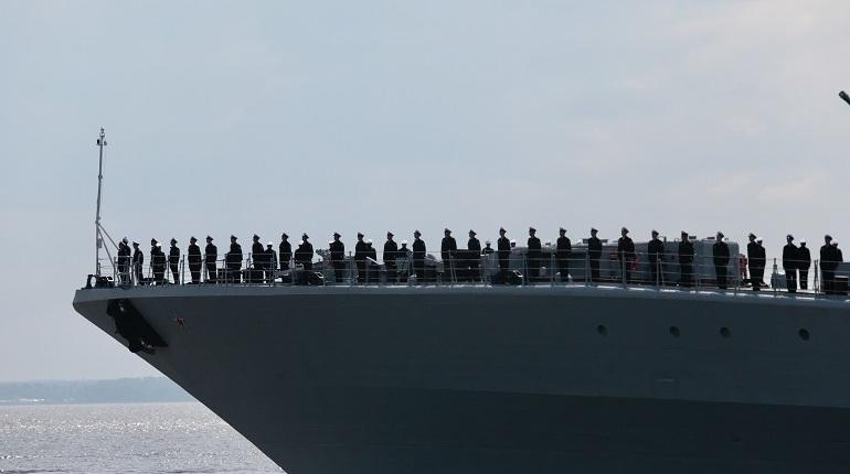В День ВМФ закроют движение по участку КАД на дамбе