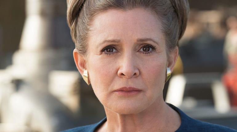 Кэрри Фишер снимется в новом эпизоде «Звездный войн»