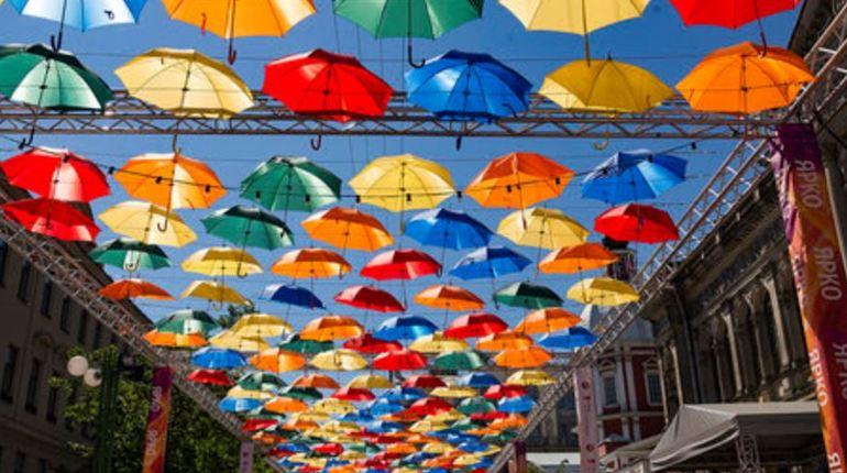 «Аллея парящих зонтиков» ограничит движение в Петербурге