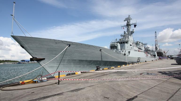 Прибывший в Петербург корабль ВМФ Пакистана откроют для всех желающих