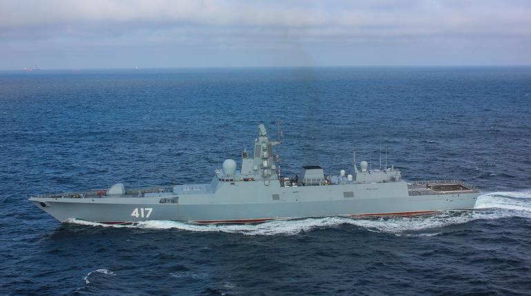 Фрегат «Адмирал Горшков» приняли в состав ВМФ России
