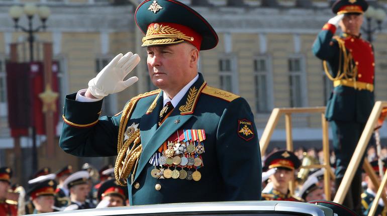 Полтавченко наградил командующего ЗВО орденом за заслуги