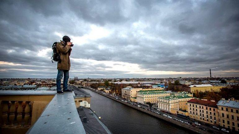 За незаконные экскурсии по петербургским крышам начнут штрафовать