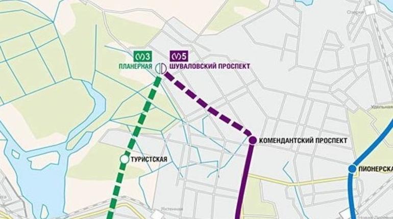 В Смольном  собираются скорректировать проект строительства новой станции метро