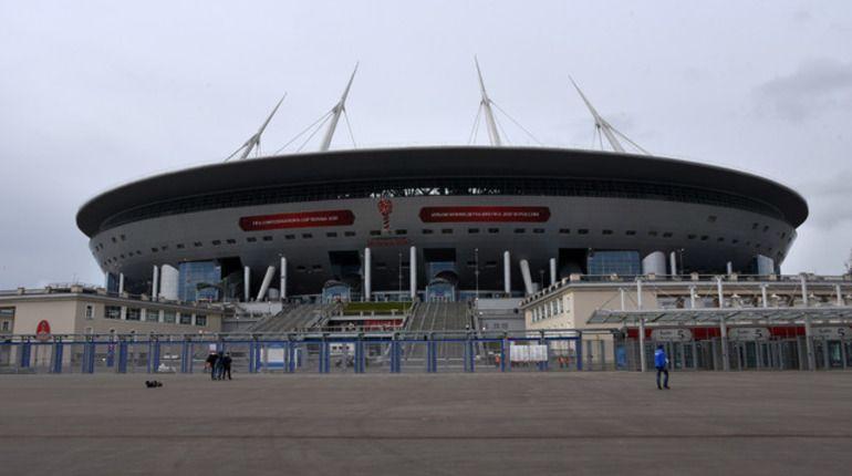 Газон настадионе «Санкт-Петербург» поменяют засчет «Зенита»