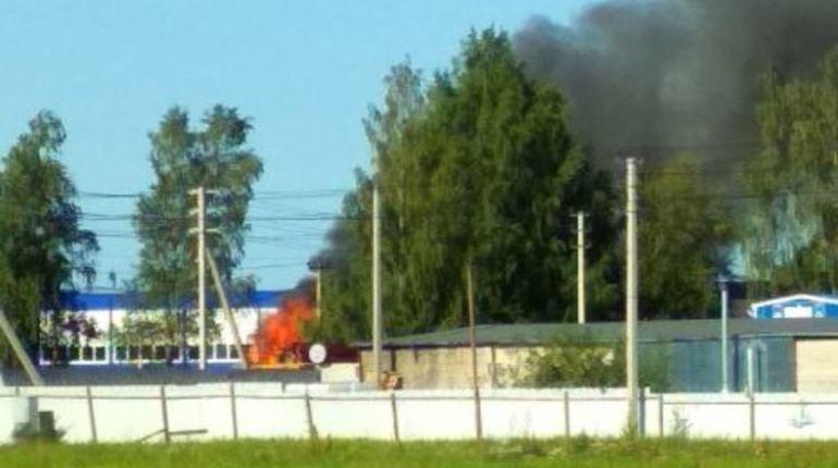 Пожар в Разбегаево вызвал жаркие споры в соцсети