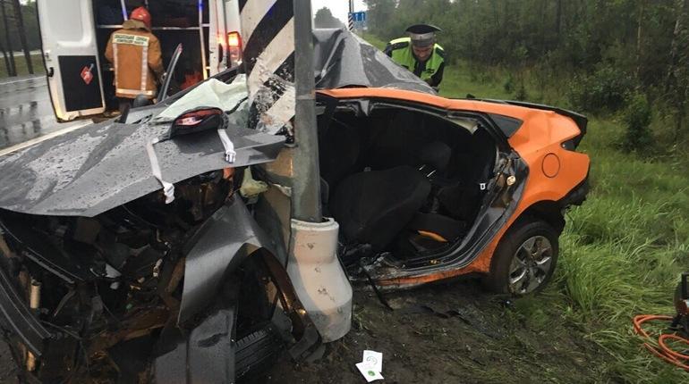 На Мурманском шоссе погибла автоледи на «Делимобиле»
