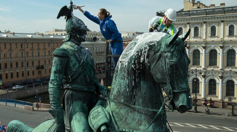 КГИОП заплатит 52 млн за реставрацию памятника Николаю I