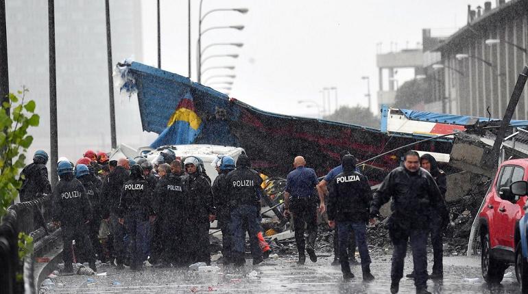 Трагедия в Генуе произошла на трассе, подобной ЗСД
