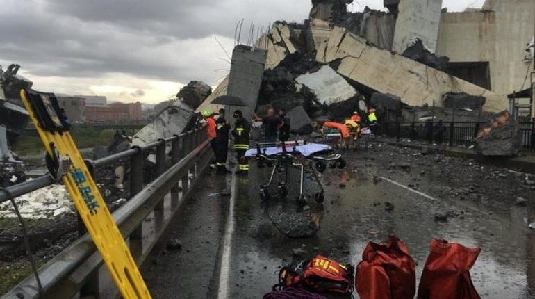 Министерство иностранных дел РФ и Департамент информации выразили свои соболезнования в связи с трагедией, произошедшей накануне в итальянском городе Генуя.
