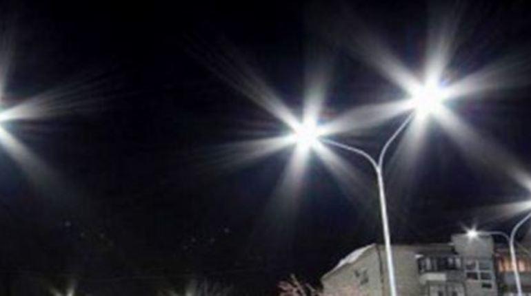 Во Всеволожском районе устанавливают светодиодные светильники