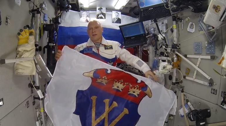 Олег Артемьев поздравил Выборг с 725-летием с борта МКС. Город отметит юбилей 18 августа.