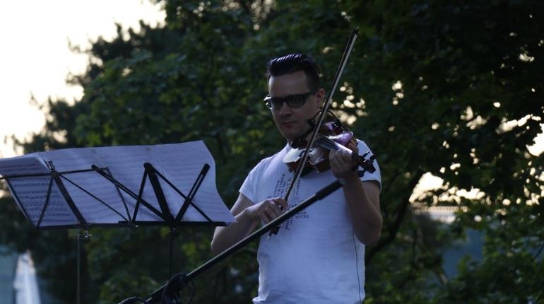 В Ботаническом саду стартовал фестиваль Summer Music Park