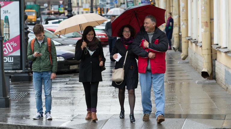 В Петербург в субботу вернется жара, правда, ненадолго. Воздух в Северной столице прогреется почти до +30 градусов. Впрочем, город обещает освежить дождь.