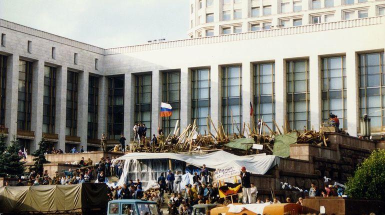 В России вспоминают «августовский путч» 1991 года