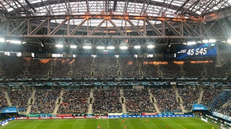 Стадиону «Санкт-Петербург» не хватило несколько тысяч зрителей до круглой цифры в 50 тысяч. Матч посетили более 45,5 тысяч человек.