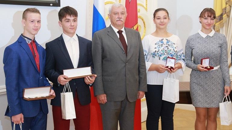 Полтавченко пригласил школьников из Словакии в петербургские вузы