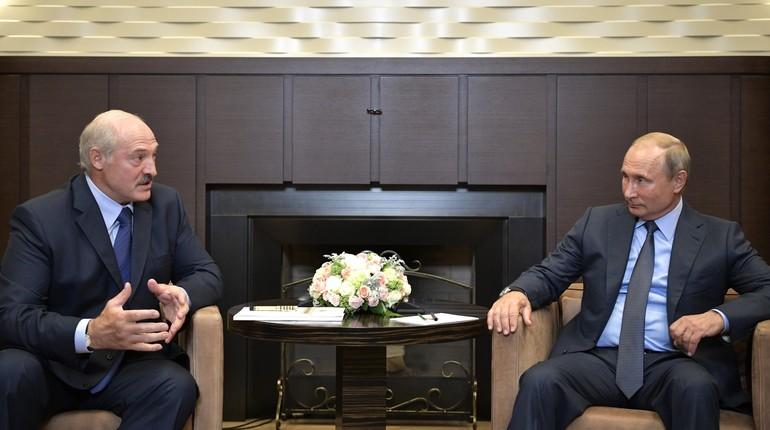 Путин поздравил Лукашенко с днем рождения