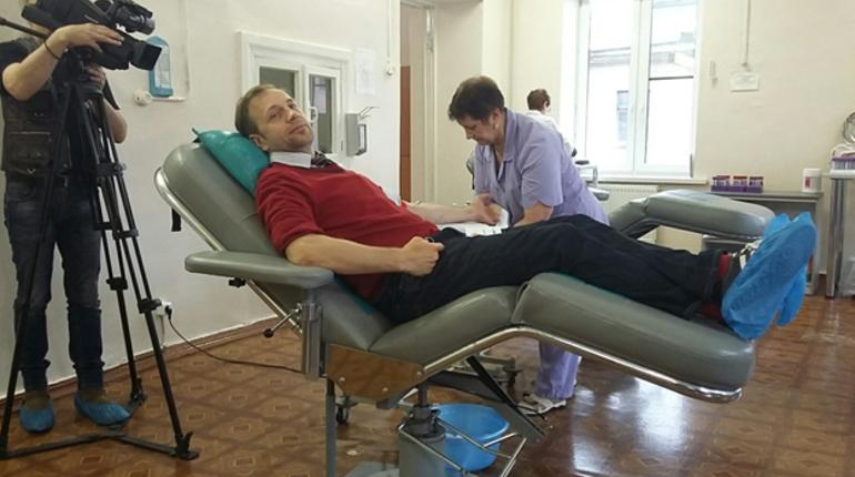 Билли Новику «пустили кровь» в Петербурге