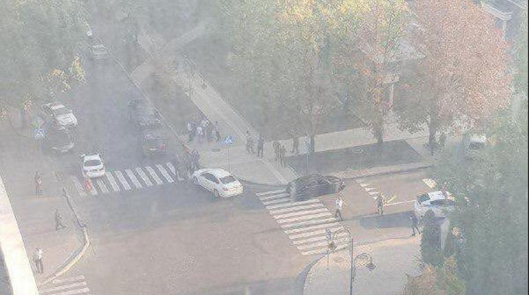 В результате взрыва в Донецке ранены 11 человек