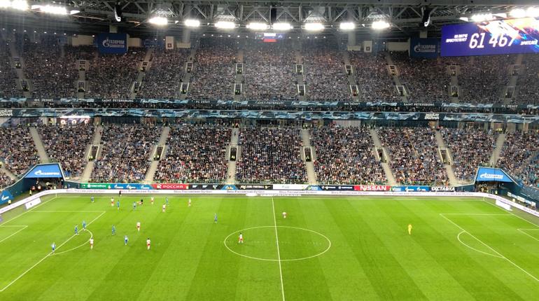 «Зенит» поставил рекорд по посещаемости домашних матчей