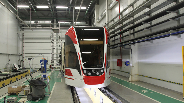 В Берлин отправят «Льва» и «Львенка» — петербургские трамваи
