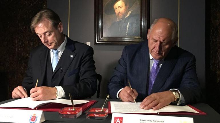 Коллеги из Антверпена начнут инвестировать в гостиницы и речной петербургский порт