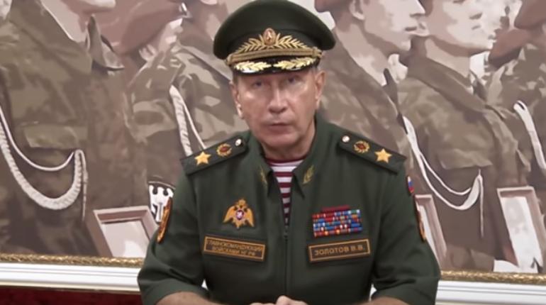 Глава Росгвардии пообещал сделать из Навального «сочную отбивную»