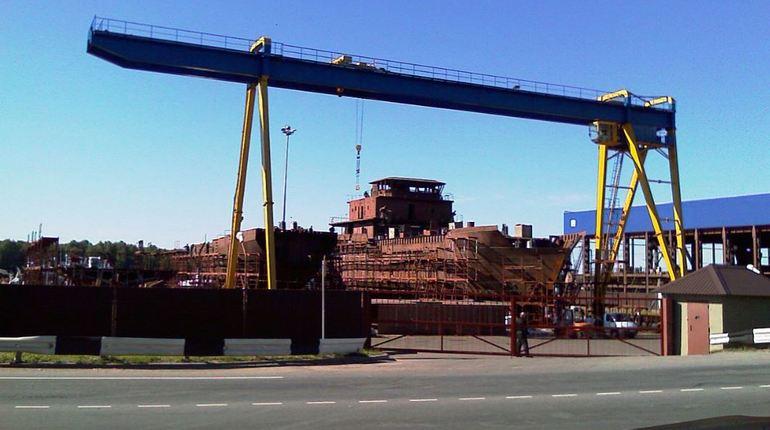 На заводе «Пелла» собираются спустить два рыбопромысловых судна