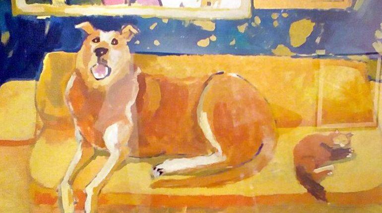 С 14 по 30 сентября в Центре книги и графики в Петербурге пройдет художественная выставка «Собачья жизнь», на которую посетителей приглашают приходить вместе с их питомцами.