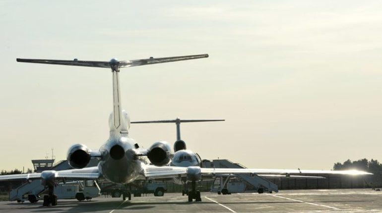 Вылет самолета Red Wings из петербургского аэропорта