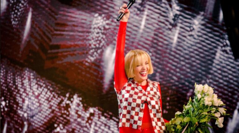 МВД России проверило концертную деятельность и пребывание Лаймы Вайкуле в России и не нашло в ней нарушений.