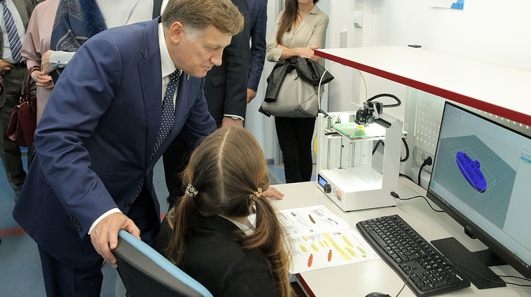 Председатель Заксобрания Вячеслав Макаров принял участие в открытии учреждения дополнительного образования для детей и подростков