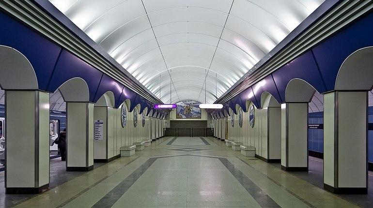 В Петербурге закрывали вторую станцию метро за день. Проверка проходила на станции