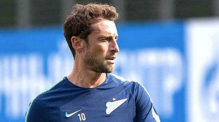 Встреча между «Зенитом» и «Копенгагеном» станет второй для Клаудио Маркизио игрой в составе «Зенита», а футболист снова остался в запасе.