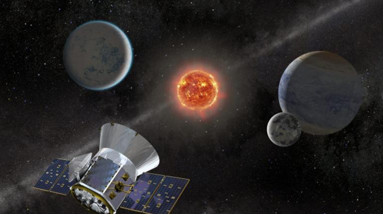 За два дня работы спутник TESS смог найти сразу две планеты, похожих на Землю. Вероятно, на планетах есть запасы воды.