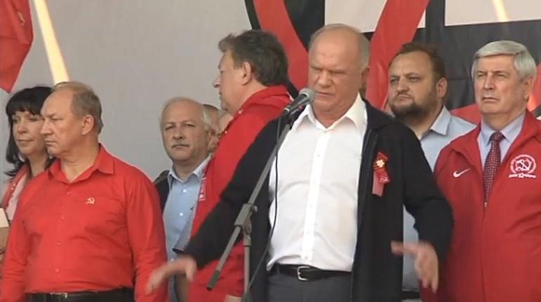 Полиция официально назвала число участников акции против повышения пенсионного возраста в Москве. На проспект Академика Сахарова, где организовали митинг, вышли три тысячи человек.