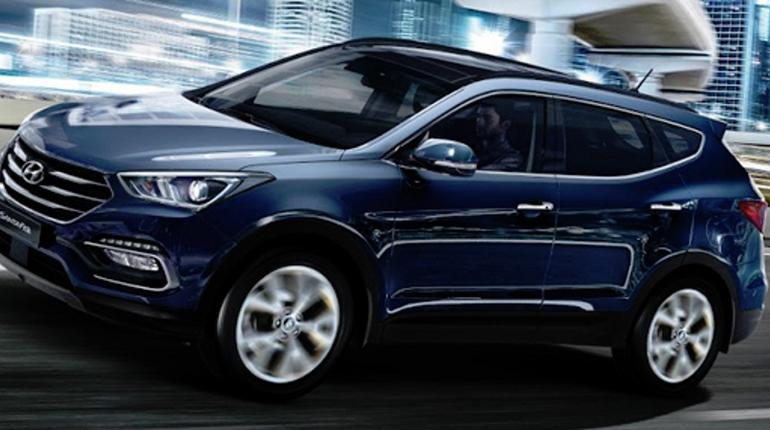 Эксперты назвали три самых популярных кроссовера ценой менее 2 млн рублей. Лидирует в топе Hyundai Santa Fe.
