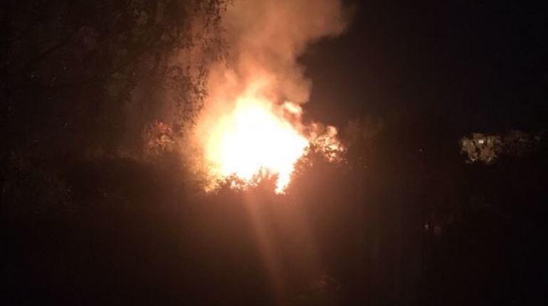 В Санкт-Петербурге произошел очередной пожар. В социальной сети автор поста «ВКонтакте» уточнил, что неизвестный объект горел около часа назад.