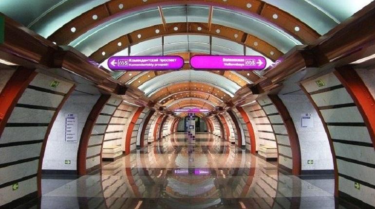 Петербургский метрополитен собирается выделить 85,5 млн рублей на страховку пяти станций фиолетовой ветки
