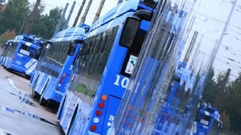 Электробусы изменят трассу маршрута рядом с Казанским собором