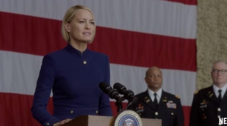 Netflix опубликовал трейлер к новому сезону «Карточного домика»