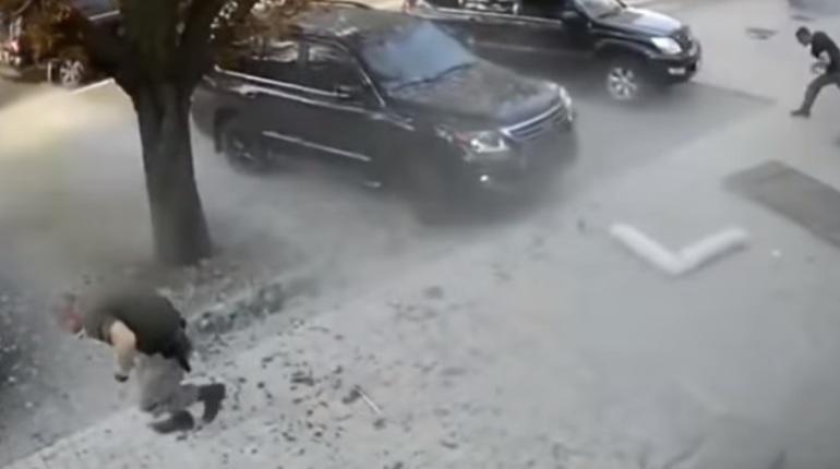 Гибель Александра Захарченко попала на видео