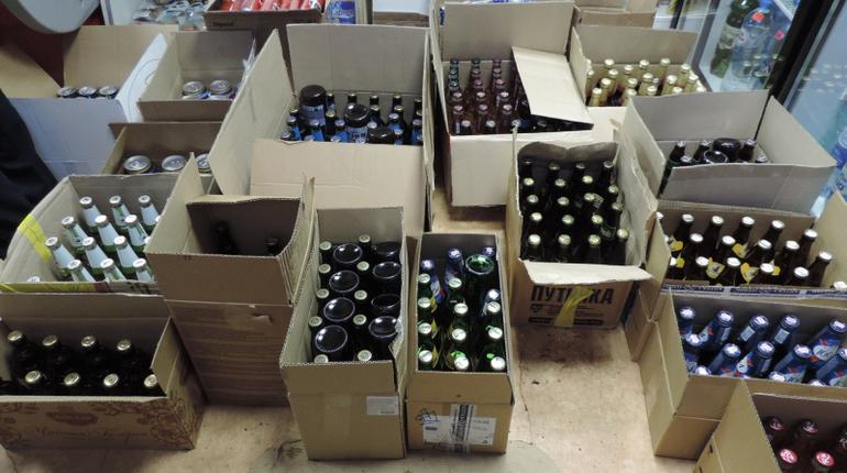 В Ленобласти поймали нелегального торговца алкоголем