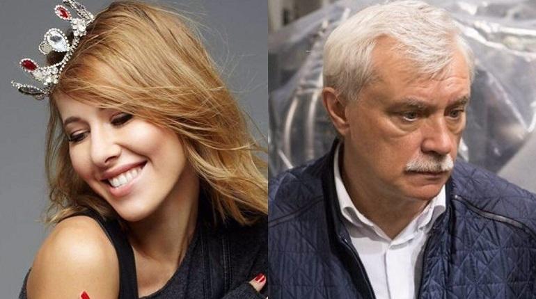Собчак хвастается тем, что добилась отставки Полтавченко