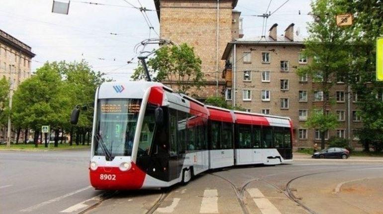 В двух районах Петербурга трамваи изменят маршрут