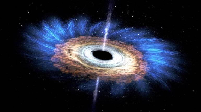 Погибшую огромную звезду внутри сверхмассивной черной дыры обнаружило NASA
