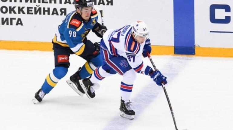 Петербургский СКА обыграл хоккейный клуб